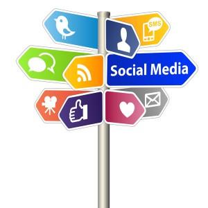Vielzahl von Social Media Plattformen